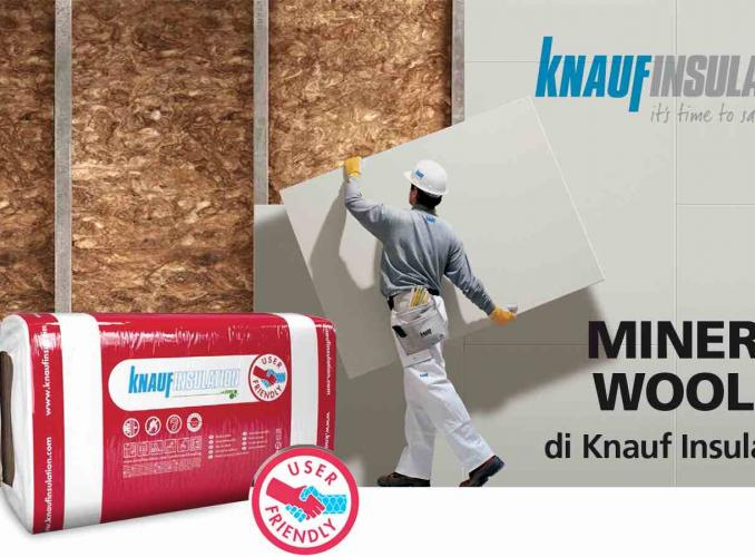 Tocca la differenza con Mineral Wool!